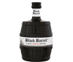 A.H. Riise Black Barrel Premium Navy Spiced Rum 40% 70cl
