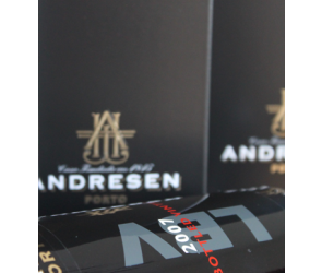 J H Andresen Late Bottle Vintage 2007 75 cl.
